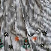 очень стильно юбка от турецкого бренда де-факто натуральные материалы вышивка