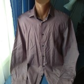 Мужская рубашка ( Next), р.М/L( ворот 41)