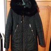 шикарное!! Новое зимнее пальто длинная куртка