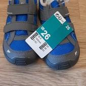 Кроссовки детские походные на липучке EU 26 (стелька 17 см)