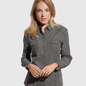 Джинсовая рубашка tom&rose, размер л