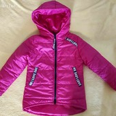 Деми Курточка на девочку,на рост 110,фирмы Polin Line