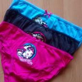 Трусики Disney, девочкам 4-5 или 6-8 лет, в лоте упаковка из 3 шт
