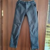Фирменные брюки, джинсы, штаны на флисе, зимние Lihong в подарок Поп Ит