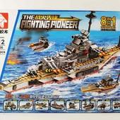 """Конструктор """"Военный корабль"""" 8 в 1, 502дет"""