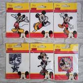 Тканевая аппликация для одежды (лот 1шт) Mickey Disney