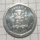 Монета Ямайки 5 долларов 1996