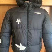 Куртка, на осень, р. 9 лет 134 см. Zara boys. состояние отличное