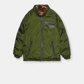 Двухсторонние стёганые куртки.sinsay.размер 104,110,122,140,146.