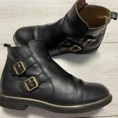 Кожаные Деми ботиночки 34 размер стелька 22 см