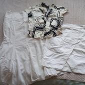 Две юбки и блуза