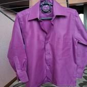 Шикарная рубашка для маленького джентльмена,Benodu, качество супер,размер 28