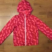 Куртка—ветровка на 10—12 лет,замеры