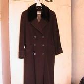 элитное пальто шинель 46-48р легкое демисезонное стильное