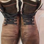Зимние ботинки на меху am shoe company