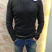 Чоловічий сірий свитер .Фірма Zigana Турція р.xл.