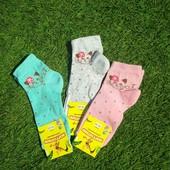 Детские носочки ХБ.на стопу 18-20 см. Лот 3 шт