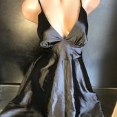 Шикарное платье с пояском (завязывается сзади на бант) 12 раз По бокам длиннее мини нюанс