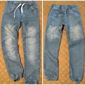 джинсы джоггеры .отлично на подростка 164+++