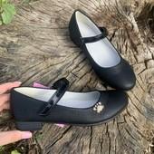 Туфли р35,36,37 школьные lilin для девочки