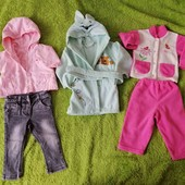 одежда для девочки на осень-весну! все что на 2 фото в одном лоте!!!