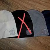женская шапка 4 цвета