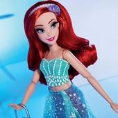 Принцеса Аріель з шикарними віями Disney princess style Ariel doll оригінал Хасбро