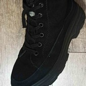 замшевые ботинки 36р