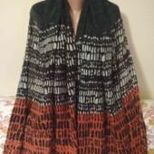 лёгкий тёплый шарф