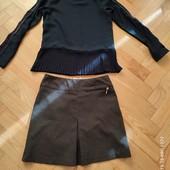Одним лотом. Блузочка+юбка на 6-8 років. В ідеалі