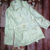 Белое пальто, пальтишко, новое. Размер S_M