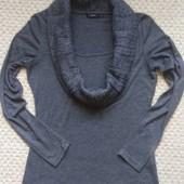Тоненький свитеров Zero с воротником-шалькой