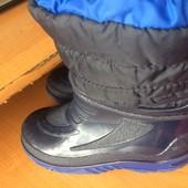 сапоги, ботинки, резиновые, гумовці, утепленные p. 31, встелька 21 см, Італія, сост. отличное