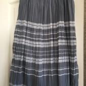 Легкая юбка плиссированная