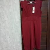 Фирменное новое красивое трикотажное платье-сарафан р.14-16