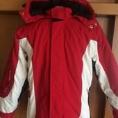 термо Куртка, на осень, внутри флис, р. 10-11 лет 140-146 см. H&M. состояние отличное