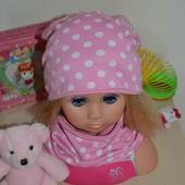 Комплект шапка+ хомут