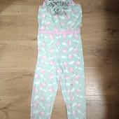 Слип пижама на девочку 9-10лет замеры на фото