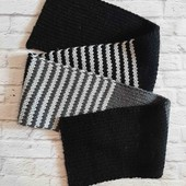 Теплый шарф унисекс