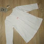 Миле нове платтячко для дівчинки 1 міс р.56, Іспанія. Платье новорожденной