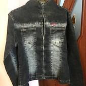 Новая джинсовая куртка. Размер 38 евро, наш М.