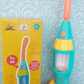 детские игрушечный пылесос