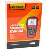 Автомобильный сканер Konnwei obd II/Eobd