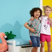 Комплект 2 шт шорты на девочку Lupilu Германия размер 110/116
