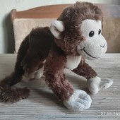 Красивенная мягкая игрушка обезьянка