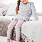 Джерси релакс брюки для дома и для сна от Tchibo германия размер 98-104