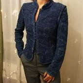 Стильный жакет пиджак от Zara гобелен-стрейч р. S