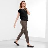 Качественные, стрейчевые брюки, длина 7/8 ТСМ Тchibo(германия) евро 36 (укр 42)