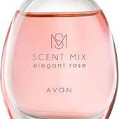 Туалетная вода женская Avon Scent Mix Elegant Rose 30 мл