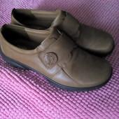 Кожаные туфли, размер 37,5- 38.